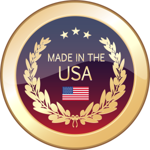 made in the usa emblem lets roll